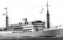 SS Leopoldville. Courtesy of Charles Stockmans