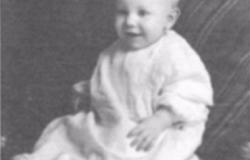 Floyd Osborne as a child. Courtesy of Marilyn Sheesly