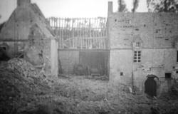 The Marmion Farm, where Harris earned his Distinguished Service Cross on D-Day, National Archives and Records Administration (Record Group 111)