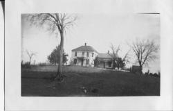 First Lieutenant Harris's childhood home in Havensville, Kansas. Courtesy of Molly James.
