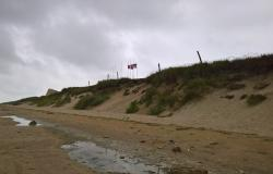 Utah Beach, the location where Huie arrived in Normandy, June 24, 2017. Courtesy of Tracy Cline