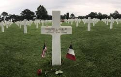 First Lieutenant Fieldon B. Huie, Jr.'s grave at Normandy American Cemetery, June 27, 2017. Courtesy of Megan McGinnis