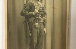 Sergeant Rubery in his uniform, c. 1943. Courtesy of Marilyn Fraser