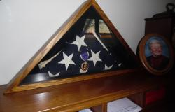 Worth Jackson Purple Heart. Courtesy of Cary House