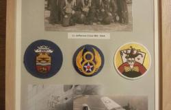 Bob Edgarton's personal collection of Items related to the 390<sup>th</sup> Bomber Group, 2015. Courtesy of Bob Edgarton.