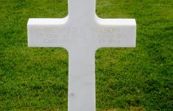 Normandy Headstone