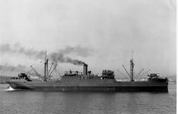 USS Spica, 1941. Courtesy of Kodiak Military History Museum